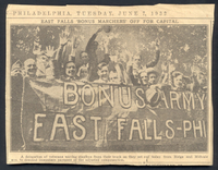 06 bonus marchers newspaper clipping 19320607